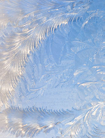 scintillating: Abstract window frost background