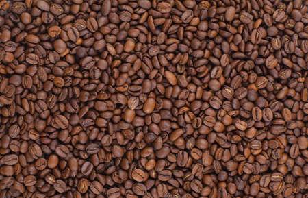 coffe bean: sfondo di chicchi di caff� tostato
