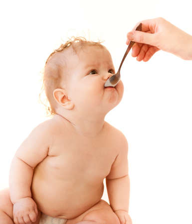 baby isolated photo