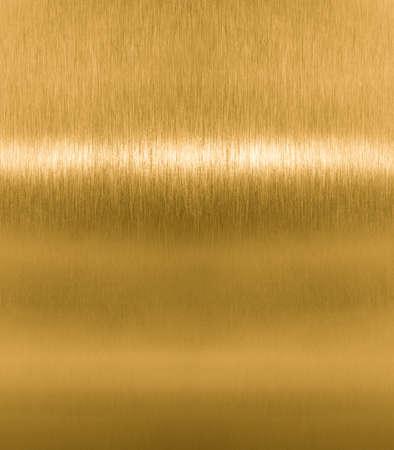 brass plate: brass or golden metal texture Stock Photo
