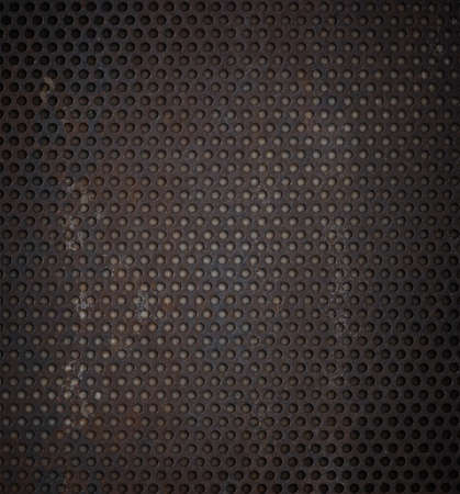 rend: grunge metal grid background