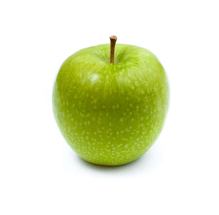 green apple isolated Stock Photo - 9071111