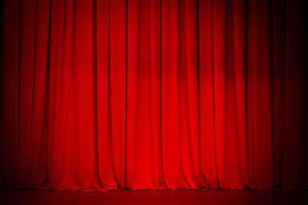 remise de prix: Arri�re-plan de Rideau rouge Banque d'images