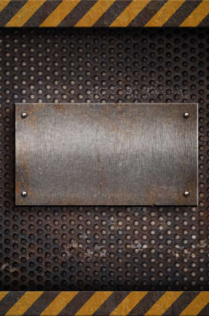 metal plate template Stock Photo - 9437714