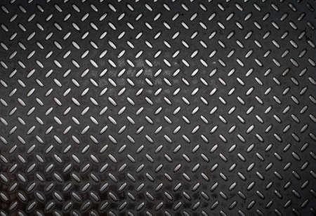 diamante negro: Fondo de metal de diamante de grunge Foto de archivo