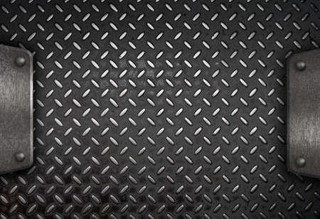 rough diamond: grunge diamond metal background