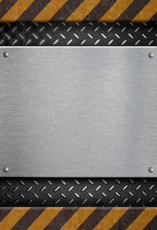 metal plate template Stock Photo - 9470127