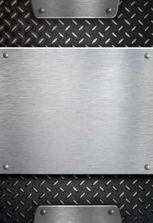 metal plate template photo