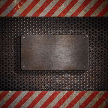 metal template Stock Photo - 9604169
