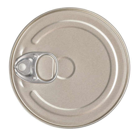 Food tin can top view Stock Photo - 9766848
