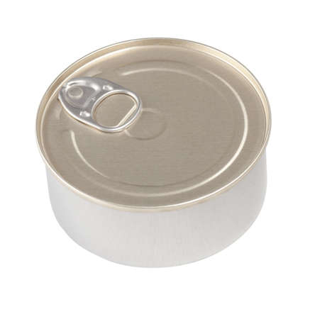 Food tin can isolated with clipping path included Stock Photo - 9892521