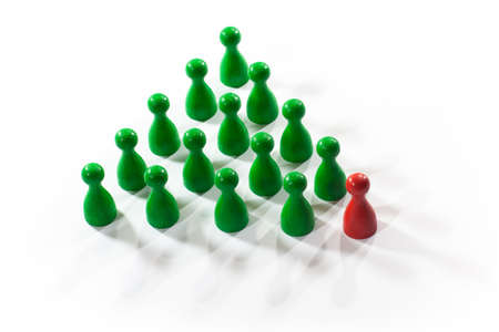 Leadership concept Stock Photo - 10548549
