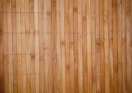 Bamboo placemat texture photo