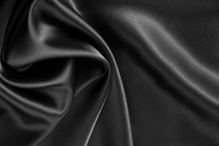 silken: black satin or silk background