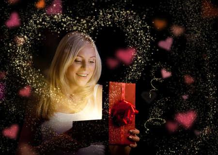 milagros: San Valent�n Foto de archivo