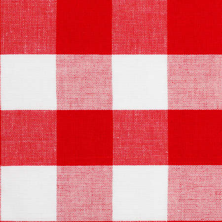 checker: Real seamless pattern of gingham traditional tablecloth suitable for 3d modeling