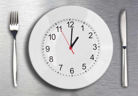 lunchen: Lunch tijd begrip