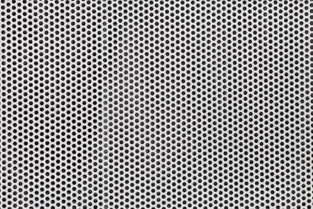 쇠 격자: 은색 금속 창살 배경
