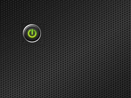 powerbutton: bot�n de encendido en la