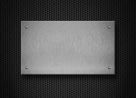 piastra acciaio: Piastra di fondo metallo industriale Archivio Fotografico