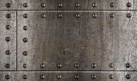 armour metal background with rivets Stock Photo - 11561271