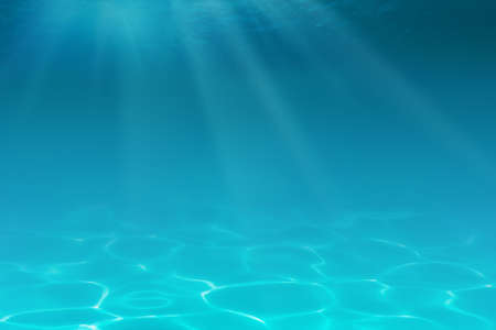 turquesa color: Fondo submarino