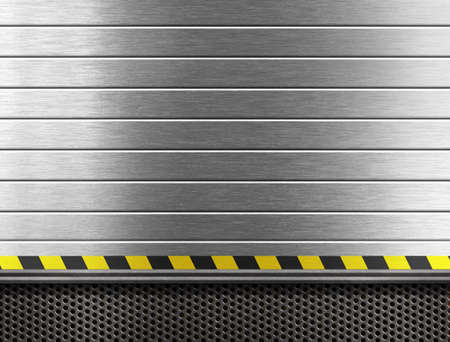 louver boards: metal industrial background