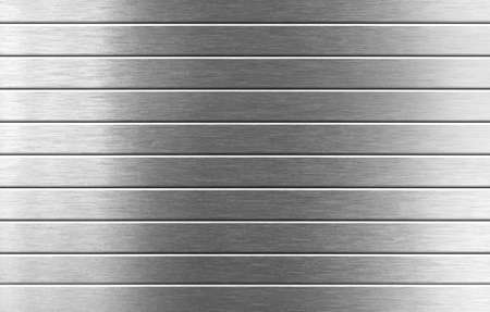 aluminum plate: silver metal background Stock Photo