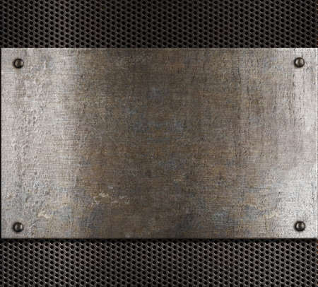 metal plate: old metal background