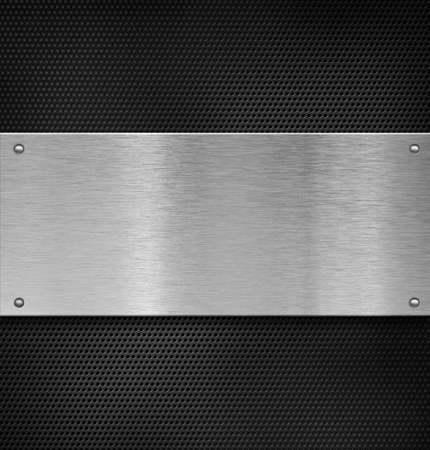 metal plate over grate Stock Photo - 12202026