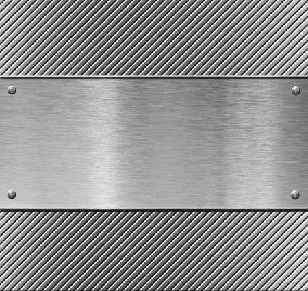 metal plate template or pattern Stock Photo - 12604841