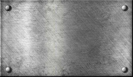 piastra acciaio: acciaio o alluminio o lamiera di alluminio con rivetti