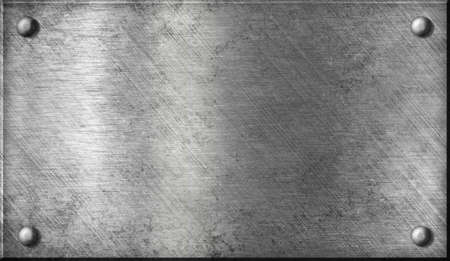 siderurgia: acero o aluminio o chapa de aluminio metálico con remaches