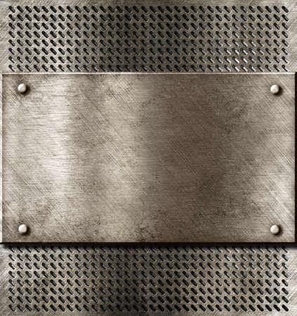 grunge metal background Stock Photo - 12610083