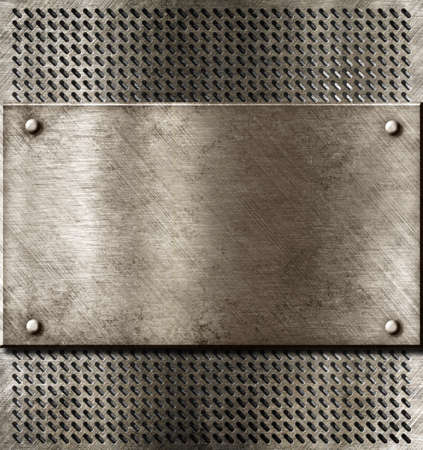 grunge metal background Stock Photo - 12610083