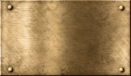 plaque: grunge metal background