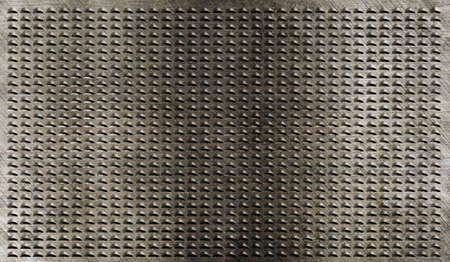 brushed aluminium: grunge metal grate industrial background