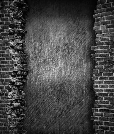 housebreaking: grunge brick wall background