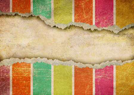 ripped paper background: Grunge ripped paper background Stock Photo