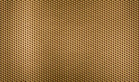 malla metalica: rejilla de metal de oro o de una rejilla de fondo Foto de archivo