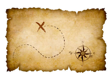Pirates treasure map photo