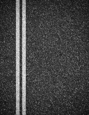 lineas verticales: Asfalto de fondo vial vista desde arriba Foto de archivo