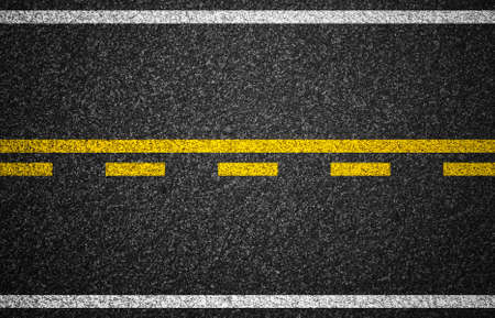 Asphalt highway with road markings background Stock Photo - 13980305