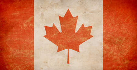 The Maple Leaf flag of Canada photo