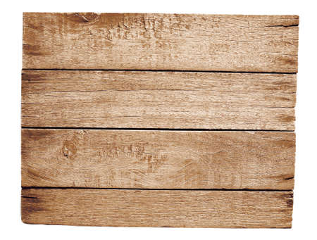 old wooden plate isolated on white Stock Photo - 14856444