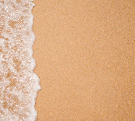 beach: water surf edge on beach sand