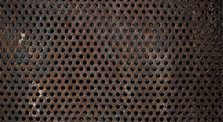grunge metal grid background Stock Photo - 15285553