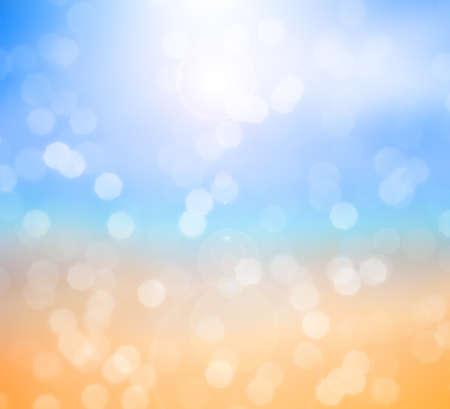 ocean beach blurred background photo