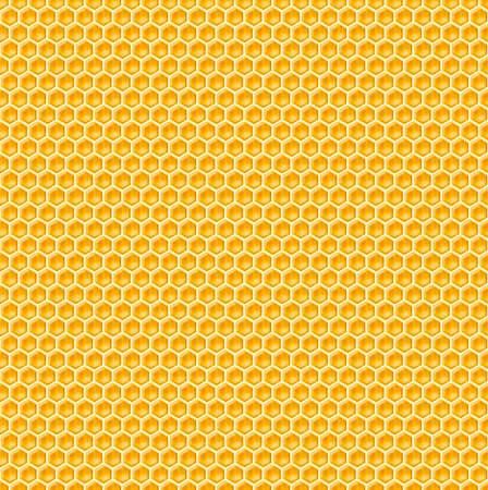 honeyed: honeycomb seamless background