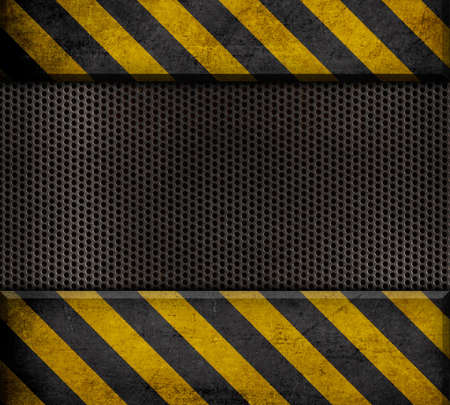 industrial metal template background Stock Photo - 16733680